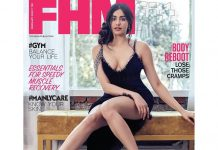 Actress Adah Sharma poses for FHM